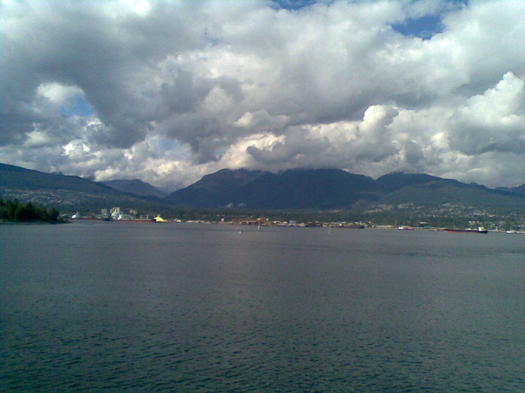 Vista do centro de Vancouver